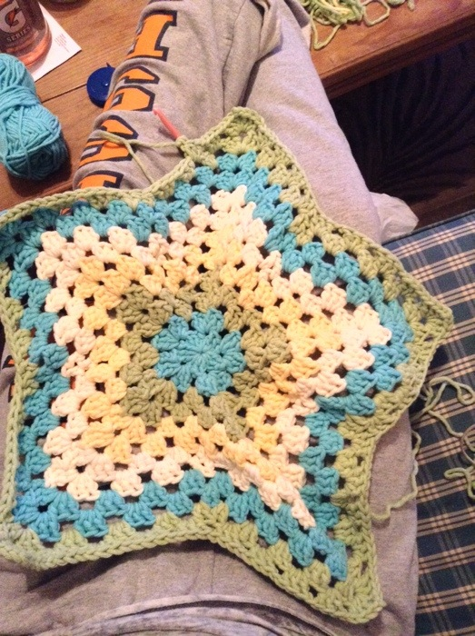 Twinkle Star Baby Blanket No Pattern Crochet Bay